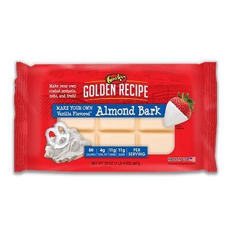 White Vanilla Almond Bark Coating 24oz Package Pku