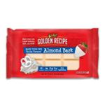WHITE VANILLA ALMOND BARK COATING / 24oz Package