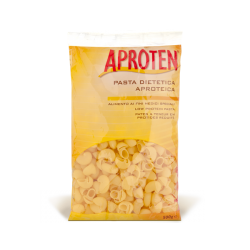 APROTEN PIPE (short, ribbed bent large macaroni with one end narrow like a whistle) Pasta/ 1- 500g Bag