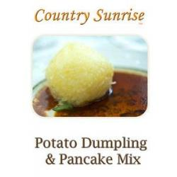 Country Sunrise POTATO DUMPLING & PANCAKE MIX / 1-lb Bag