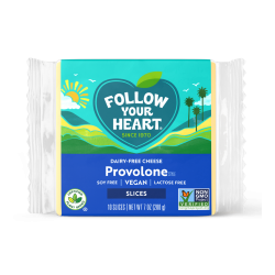 """Melt-able"" Low Protein FYH PROVOLONE Cheese Slices 1/7oz pkg"