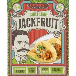 Upton Jackfruit Chili Lime Carnitas Meat Alternative Shreds/ 1- 10.6oz pkg